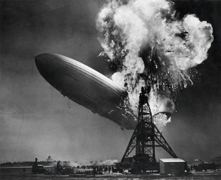 Die Hindenburg-Tragödie